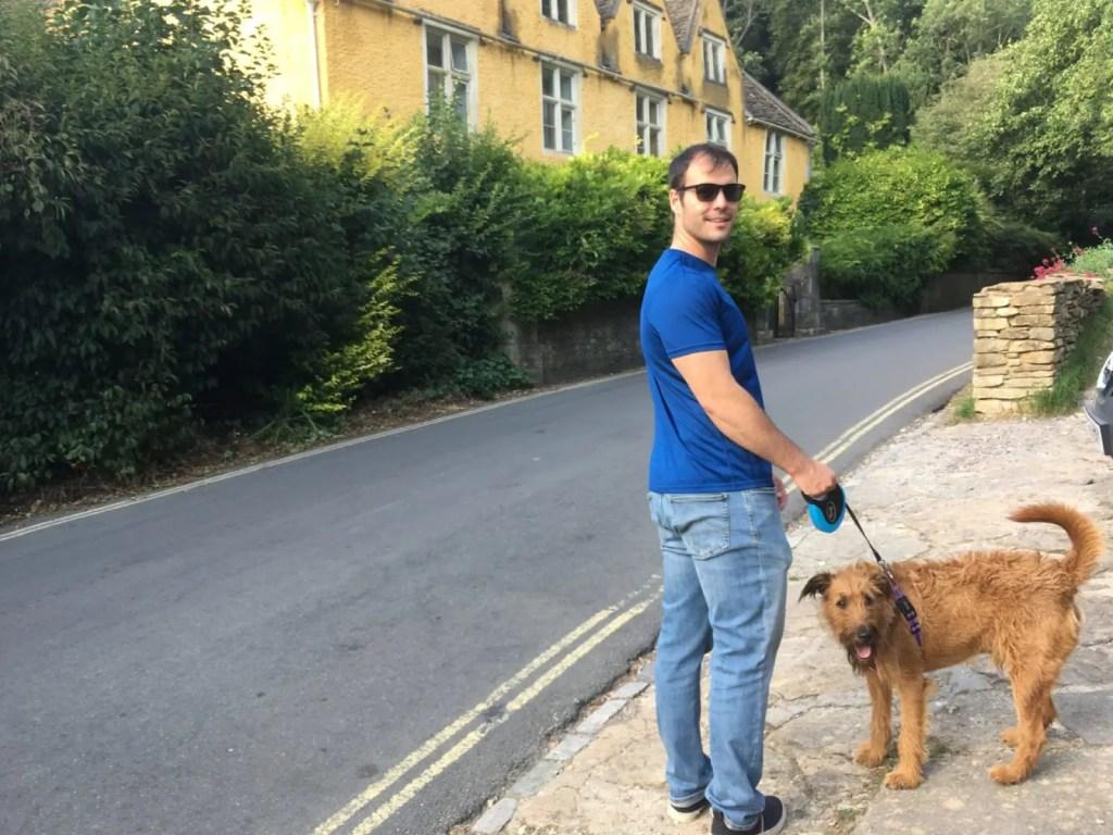 Jonathan Clarkin dog walking