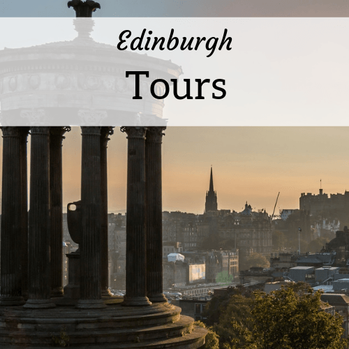 Edinburgh tours - recommendations from expat Amanda Walkins - image of the Edinburgh skyline