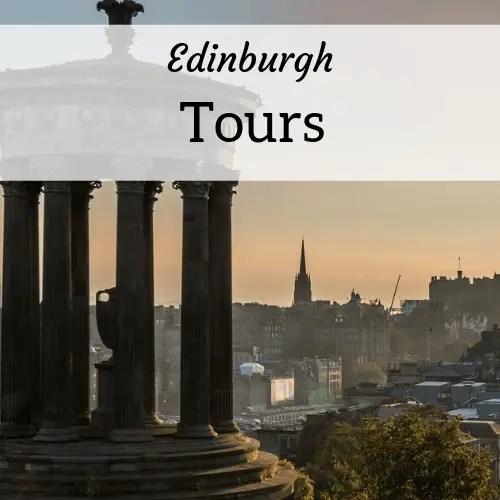 square header image for Edinburgh tours