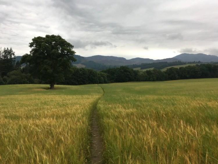 Walk around Pitlochry Scotland