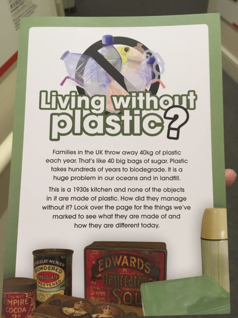 Portsmouth Museum encouraging living without plastic