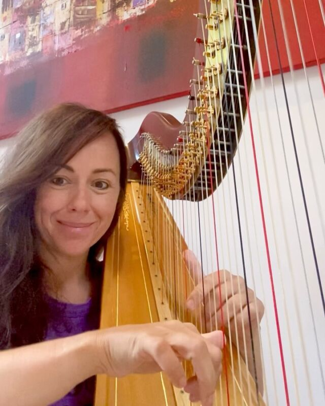 I grew up loving Debussy and especially the Debussy Danses, which have inspired this new (improvised section)piece. Listening back, makes me think of Feel by Jacob Collier too. All that lush harmony swirling around, soothing the soul ❤️#practise #music #newmusic #dorothyashby @jacobcollier #alicecoltrane #debussy #harp #jazzharp #newalbum #impressionists @lyonhealyharps @jazzmanrecords #harpist