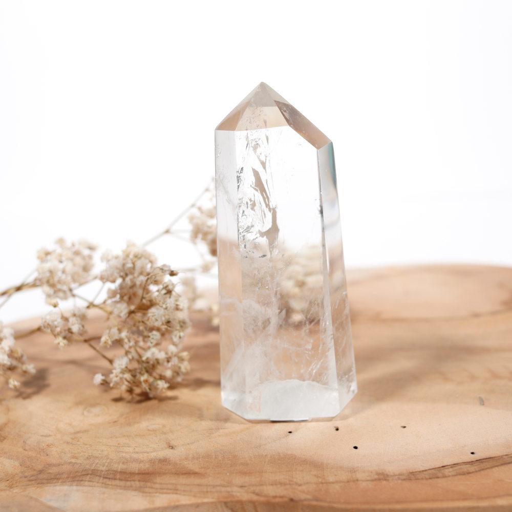 Pointe de cristal de roche, modèle 5
