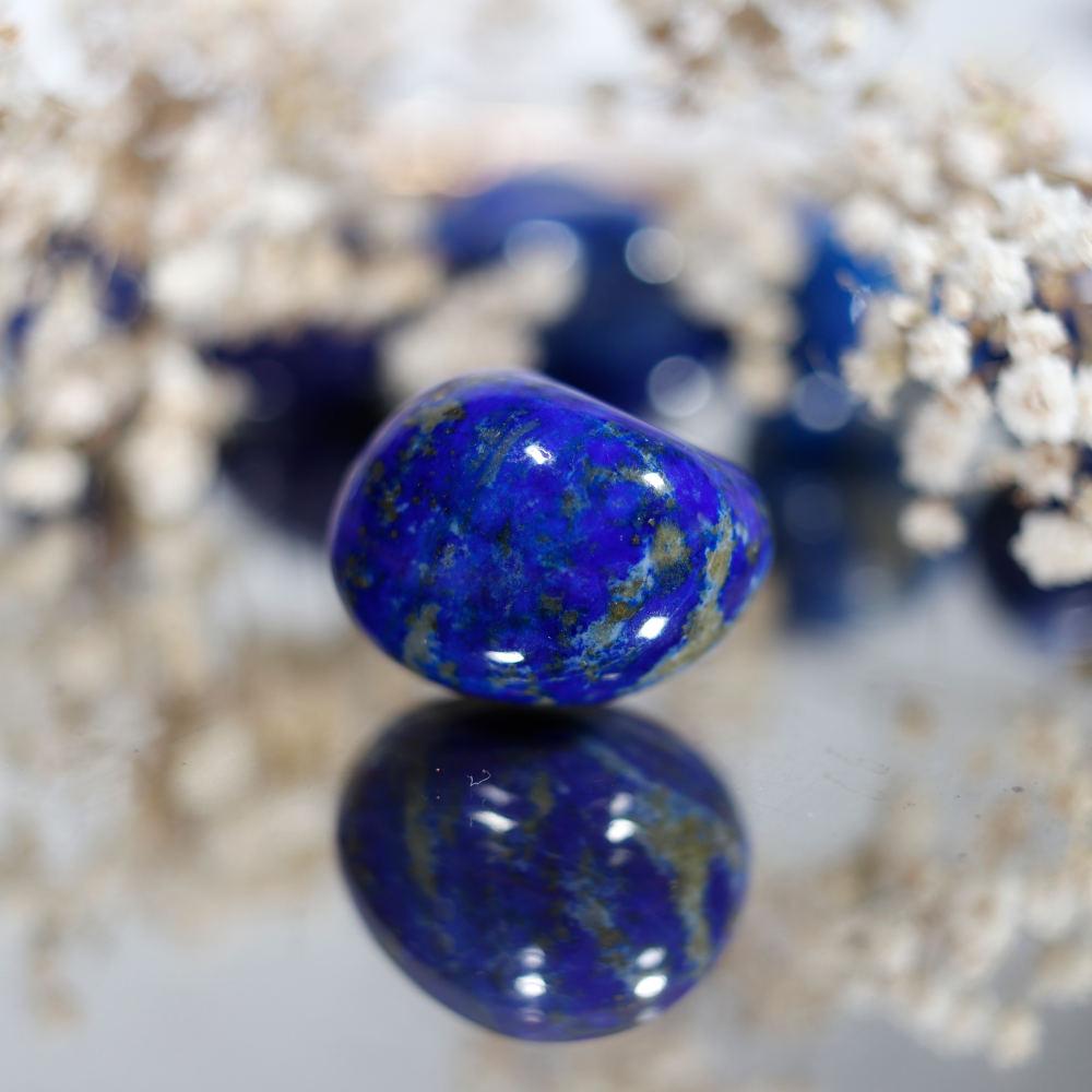 Lapis-lazuli roulé