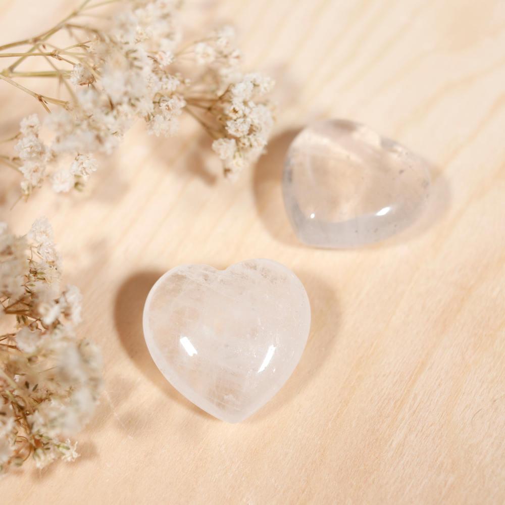 Cœur cristal de roche