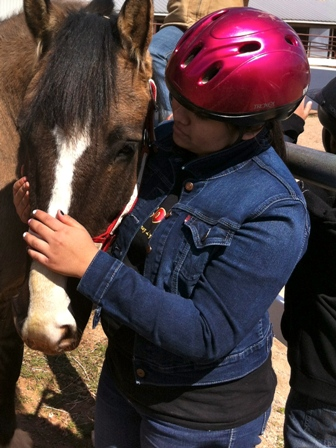 Horses and Kids, Lincoln Middle School