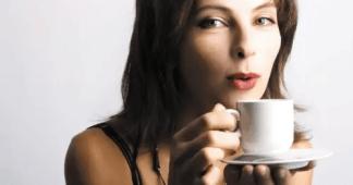 Té de hojas de café