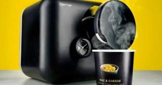 Cafeteras inteligentes que preparan comida