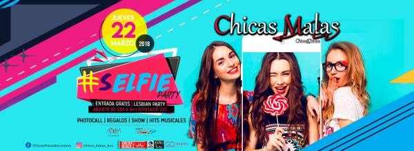 Flyer FIesta Chicas Malas