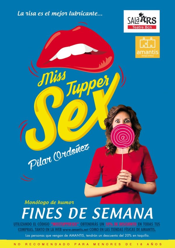 MIss Tupper Sex en la Sala Ars