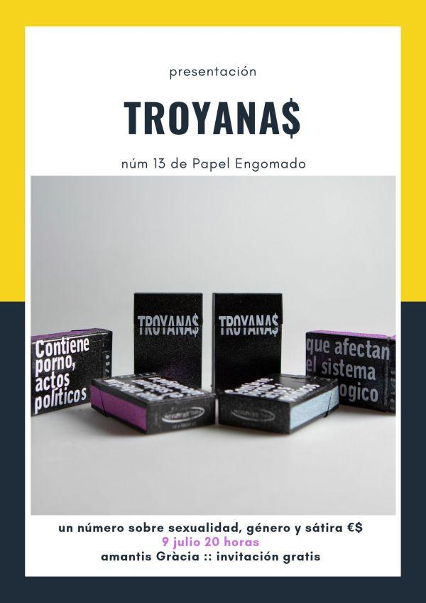 Presentación TROYANA$ en Barcelona