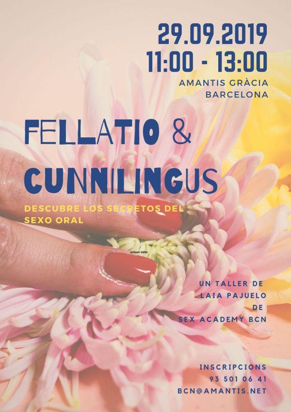 Flyer Taller Cunnilingus & Fellatio