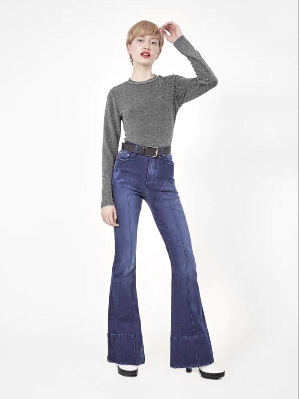 jeans boca de sino