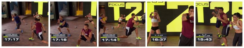 Focus T25 Total Body Circuit 15 mins