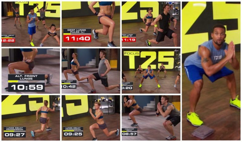 Focus T25 8 mins