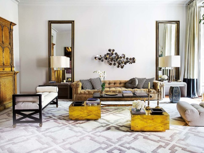 Feminine Glam Living Room