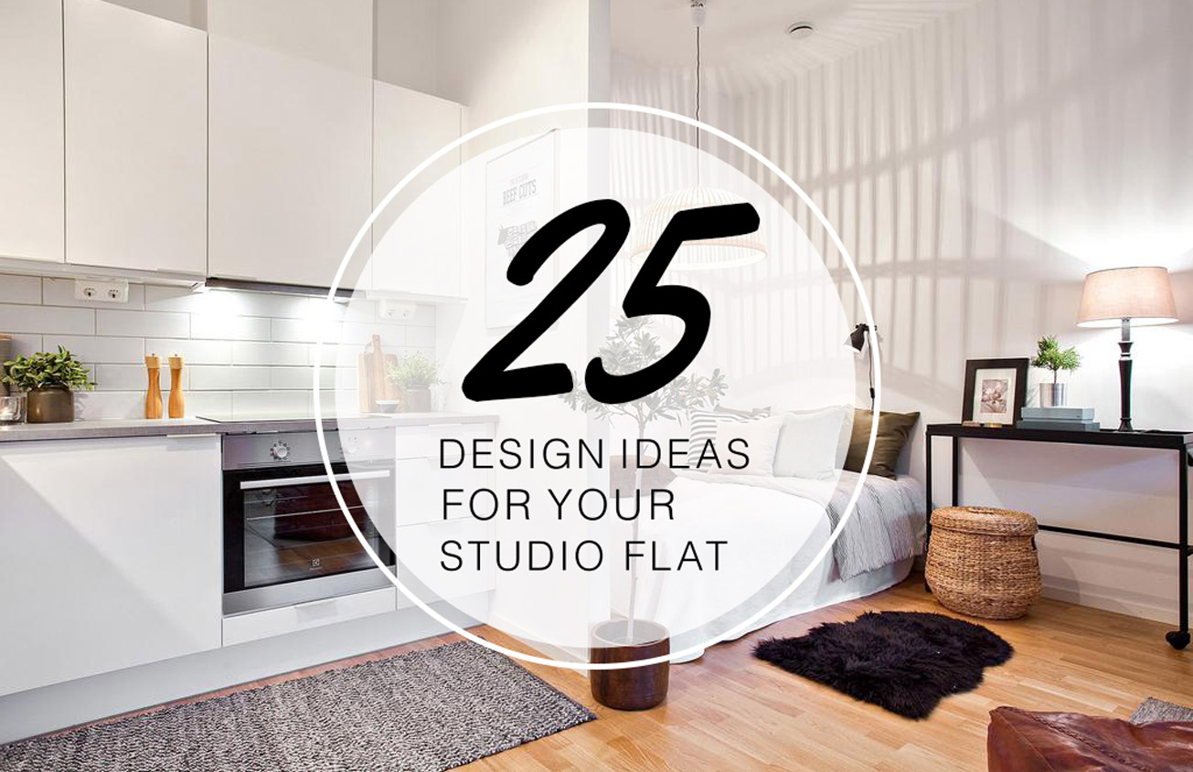 25 Stylish Design Ideas For Your Studio Flat   The LuxPad 25 Stylish Design Ideas For Your Studio Flat