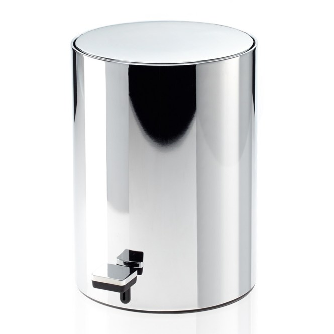 Designer Bathroom Bins stone effect bathroom bin with lid : brightpulse