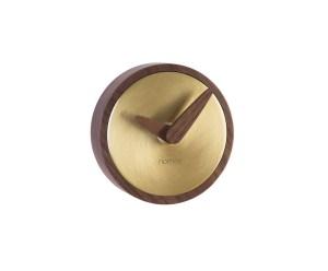Átomo reloj pared g metal pulido. nomon. Diseño Barcelona