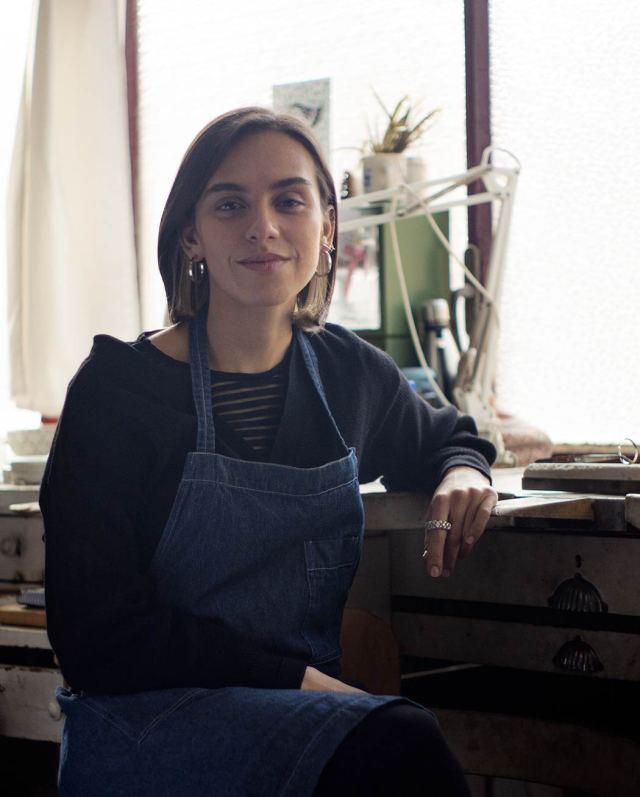Gabriela Baca. Arquitecta Paisajista. Mejicana. Diseñadora de joyas. Joyería Barcelona