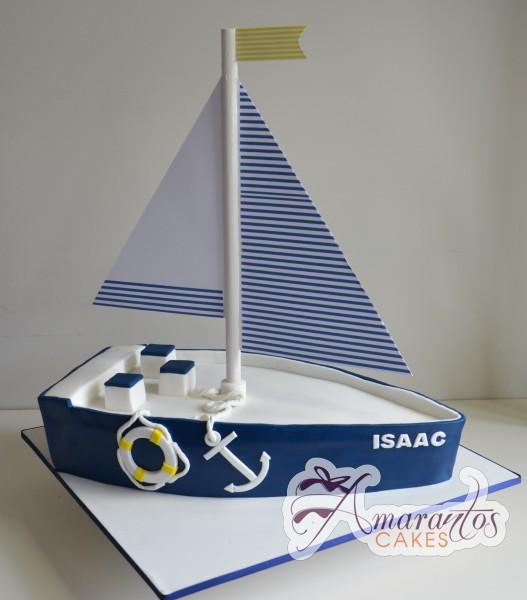 Sailboat Cake - Amarantos Designer Cakes Melbourne