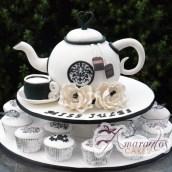 Tea pot cake - CT26