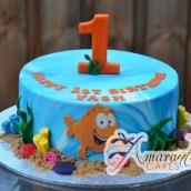 Bubble Guppy Cake - Amarantos Custom Made Cakes Melbourne