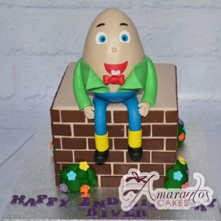 Humpty Dumpty Cake - Amarantos Custom Made Cakes Melbourne