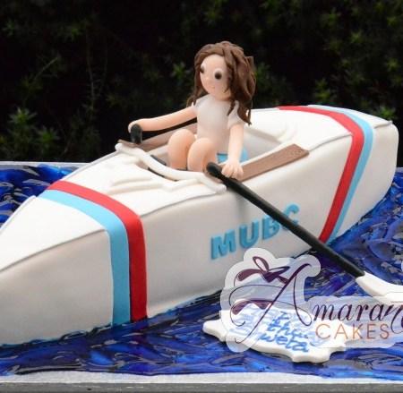 3D Boat - Amarantos Cakes Melbourne