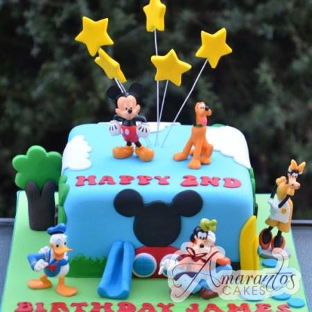 Mickey Cake - Amarantos Cakes Melbourne