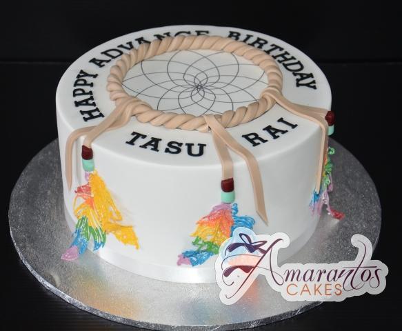 NC540 dream catcher cake