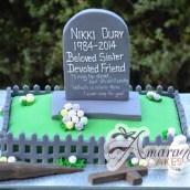 Buffy the Vampire Slayer Cake - Amarantos Custom Made Cakes Melbourne