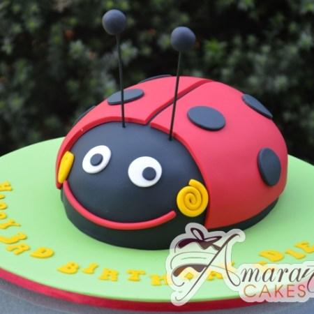 3D Lady Bug Cake - Amarantos Designer Cakes Melbourne