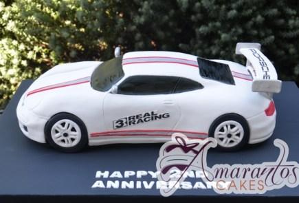 3D Real Racing 3 Porsche Cake – NC702 – Amarantos Cakes Melbourne