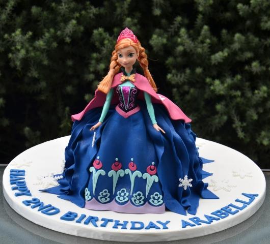 Anna Doll Cake - Amarantos Cakes Melbourne
