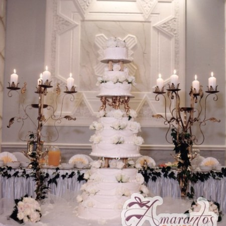 Ten tier Wedding cakes