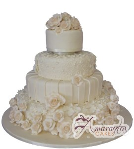 Four Tier Cake - Amarantos Custom Made Cakes Melbourne