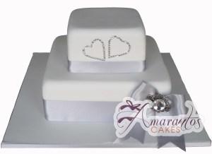 Two tier Cake - Amarantos Designer Cakes Melbourne