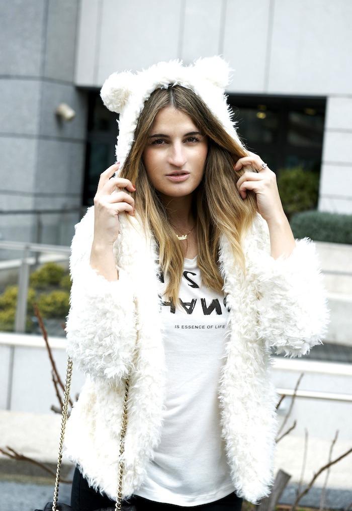 bear coat amaras la moda
