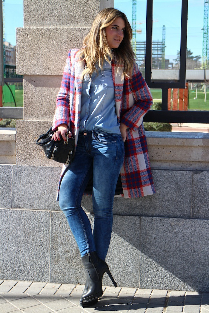 abrigo cuadros zara amaras la moda1.1.
