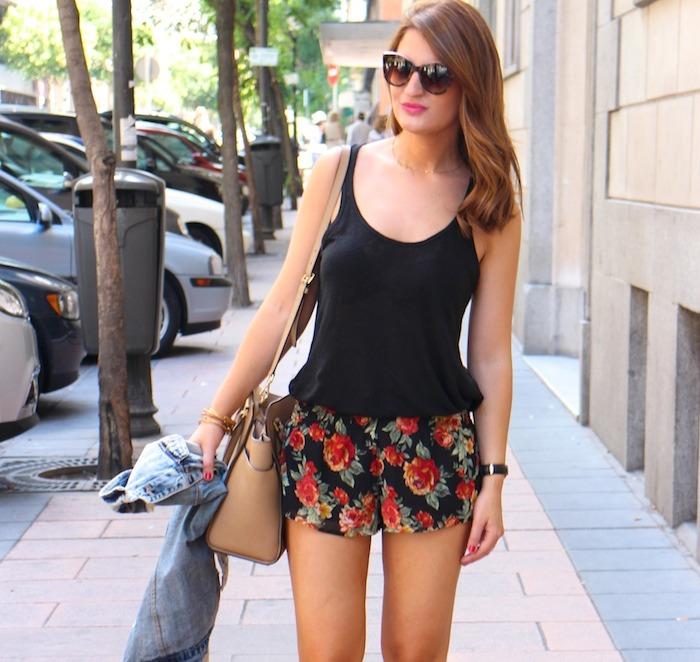 shorts forever 21 amaras la moda,hym sandals michael kors bag denim vest zara Amarás la moda 6
