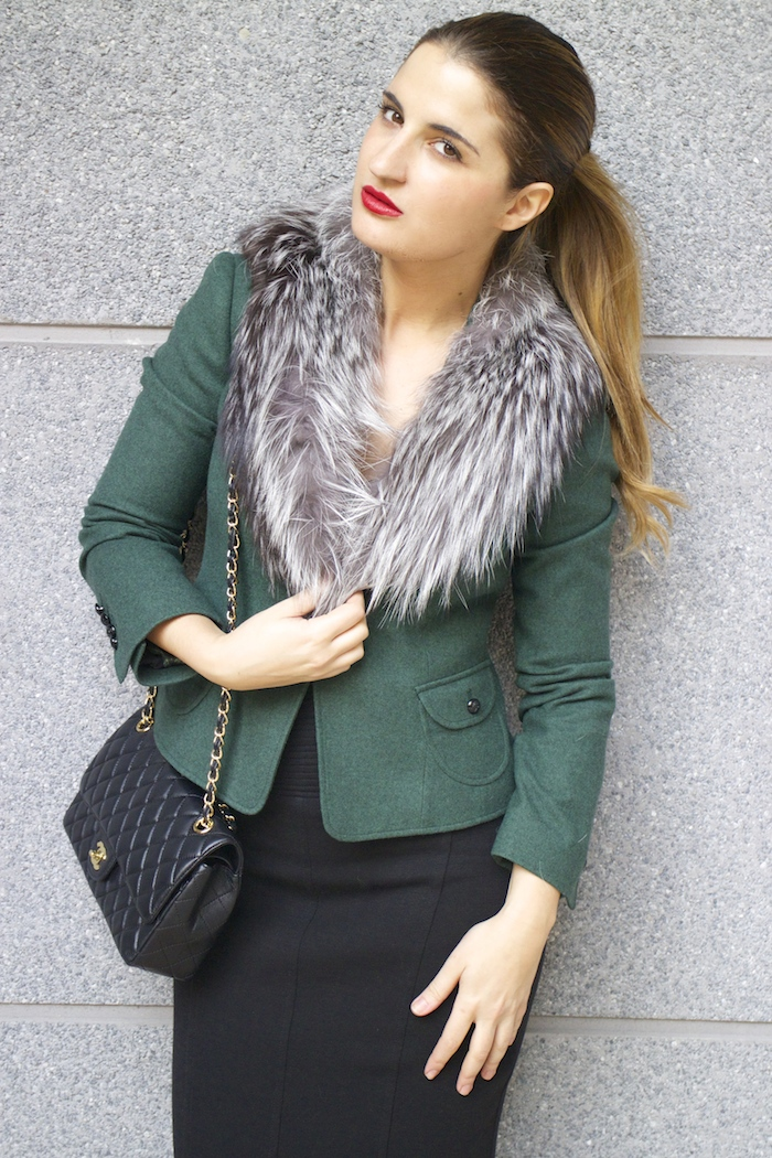 dolce gabanna jacket fox chanel bag pilar burgos shoes 2