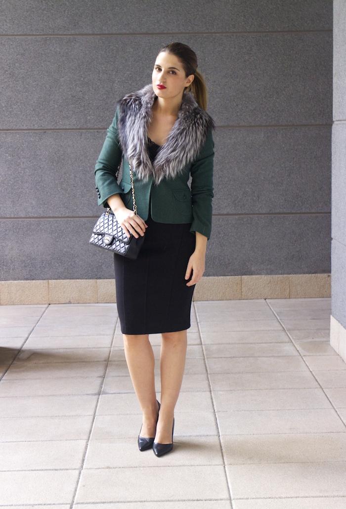 dolce gabanna jacket fox chanel bag pilar burgos shoes 7