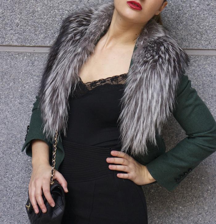 dolce gabanna jacket fox chanel bag pilar burgos shoes 8
