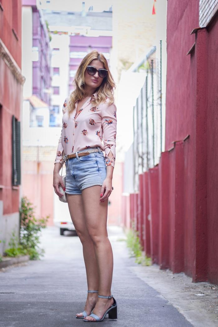 amaras la moda floral shirt fashion pills michael kors bag