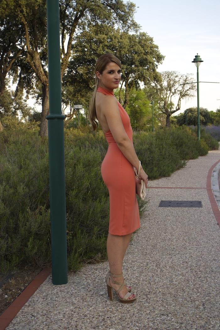 desfile telva Zara dress mulberry bag