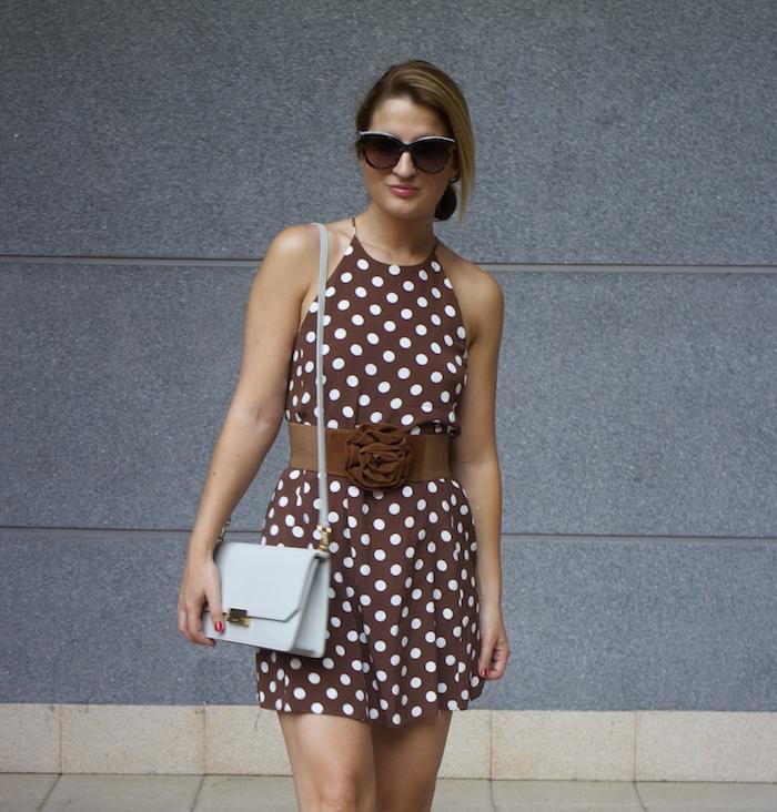 pretty woman dress Zara Ecco bag amaras la moda 2