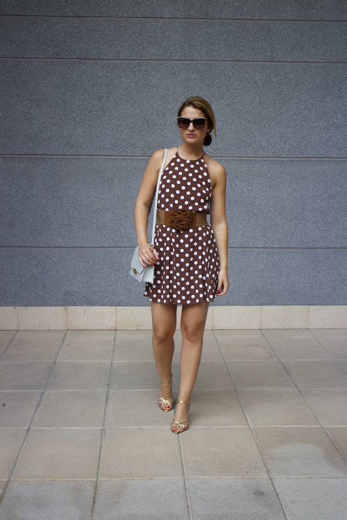 pretty woman dress Zara Ecco bag amaras la moda 5