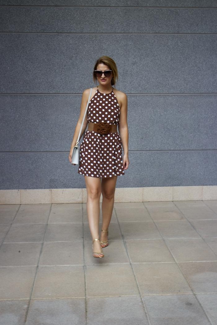 pretty woman dress Zara Ecco bag amaras la moda 7