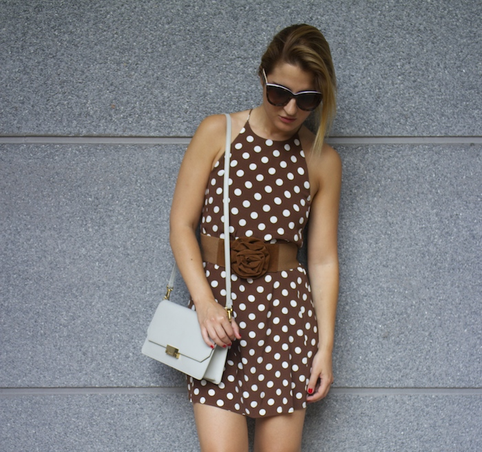 pretty woman dress Zara Ecco bag amaras la moda 8